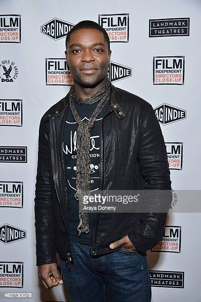 David Oyelowo attends the Film Independent's Directors CloseUp Ava DuVernay The Road To 'Selma' at the Landmark Theater on February 3 2015 in Los...