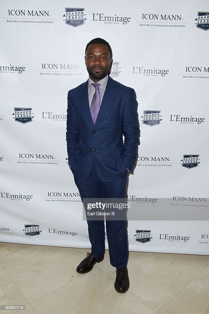 <a gi-track='captionPersonalityLinkClicked' href=/galleries/search?phrase=David+Oyelowo&family=editorial&specificpeople=633075 ng-click='$event.stopPropagation()'>David Oyelowo</a> attends the ICON MANN Pre-Oscar Power 30 Dinner at L'Ermitage Beverly Hills Hotel on February 23, 2013 in Beverly Hills, California.