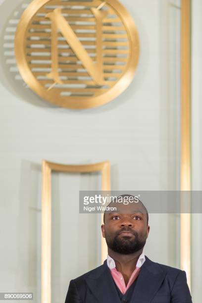 David Oyelowo attends the press conference ahead of the Nobel Peace Prize Concert 2017 at the Norwegian Nobel Institute on December 11 2017 in Oslo...