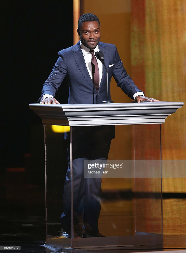 David Oyelowo speaks at the 44th NAACP Image Awards - show held at The Shrine Auditorium on February 1, 2013 in Los Angeles, California.