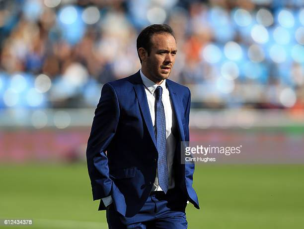 David Parker manager of Birmingham City Ladies during the Continental Cup Final between Manchester City Women and Birmingham City Ladies at The...