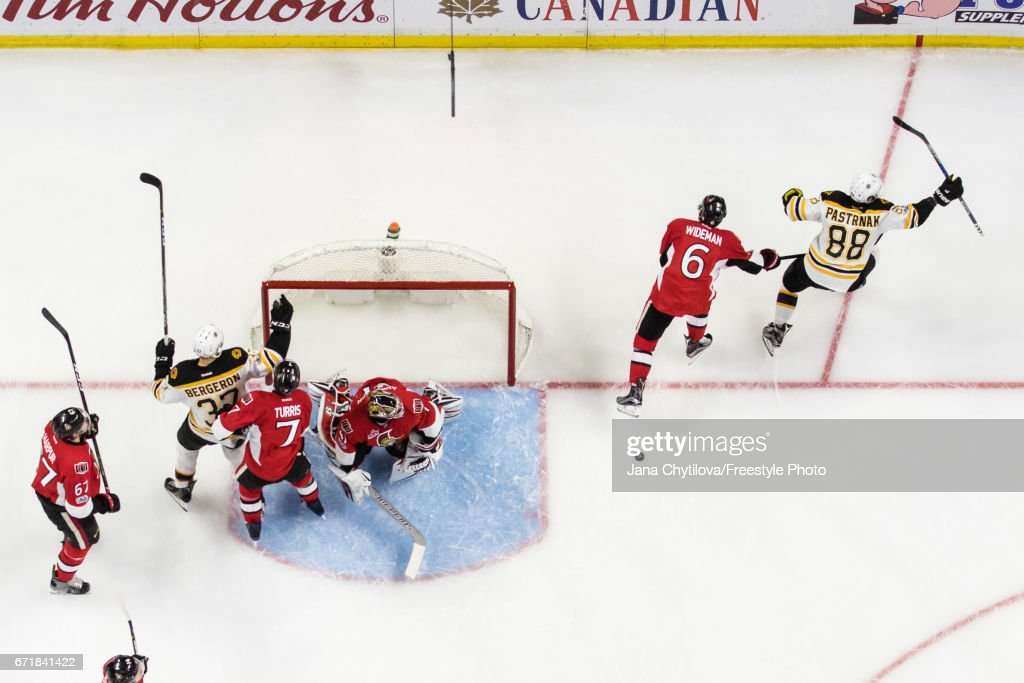 Boston Bruins v Ottawa Senators - Game Five