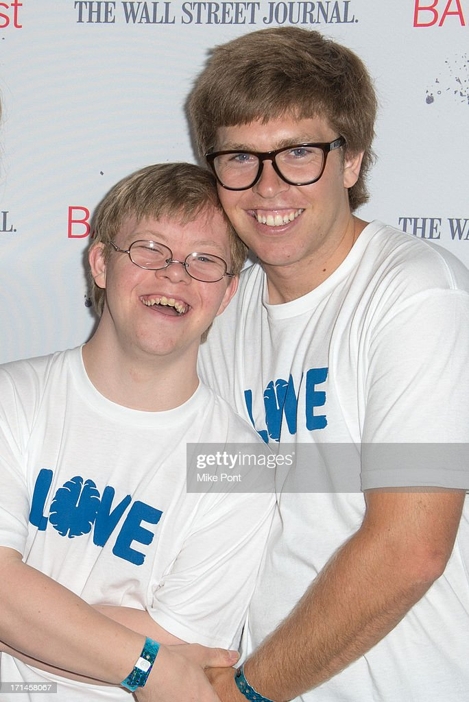 David Pearce and Snowboader Kevin Pearce attend BAMcinemaFest New York 2013 Screening Of 'The Crash Reel' at Peter Jay Sharp Theater on June 24 2013...