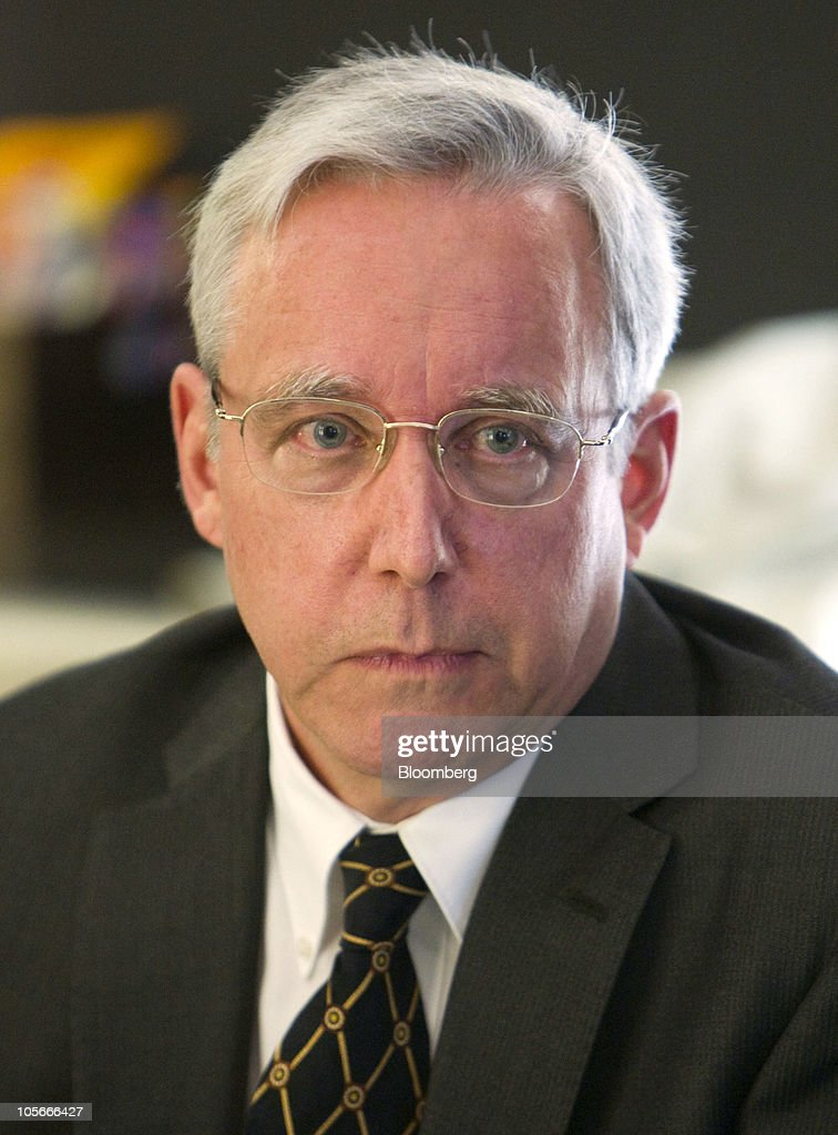 David Pearce US ambassador to Algeria speaks during a media briefing in New York US on Monday Oct 18 2010 The delegation of ambassadors is on the...