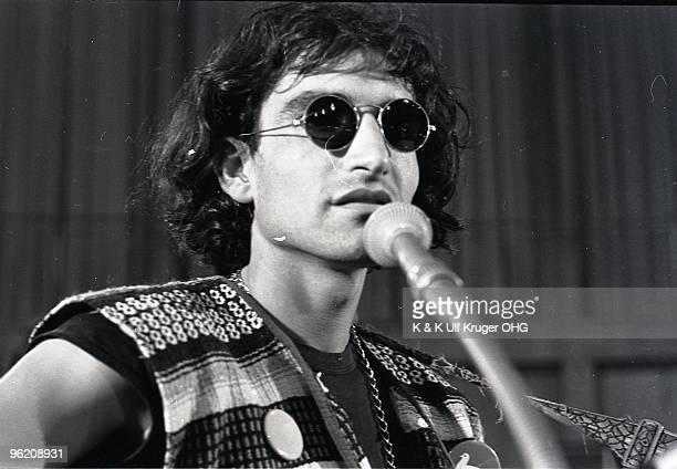 David Peel performs on stage in September 1968 in Germany