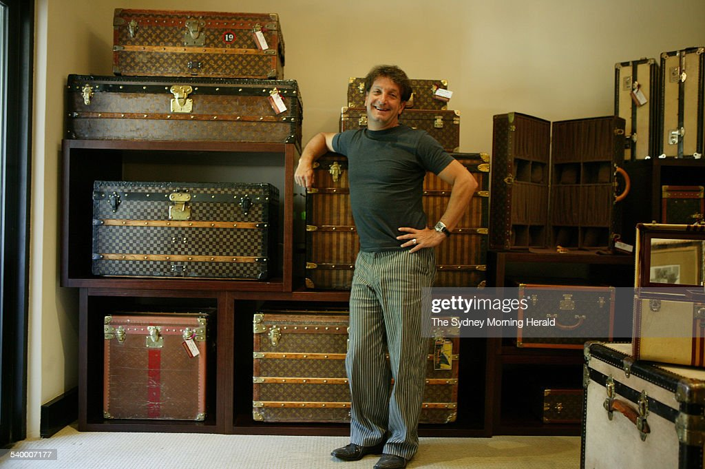 David Penn, Director of the Vintage Luggage Company, Double Bay ...