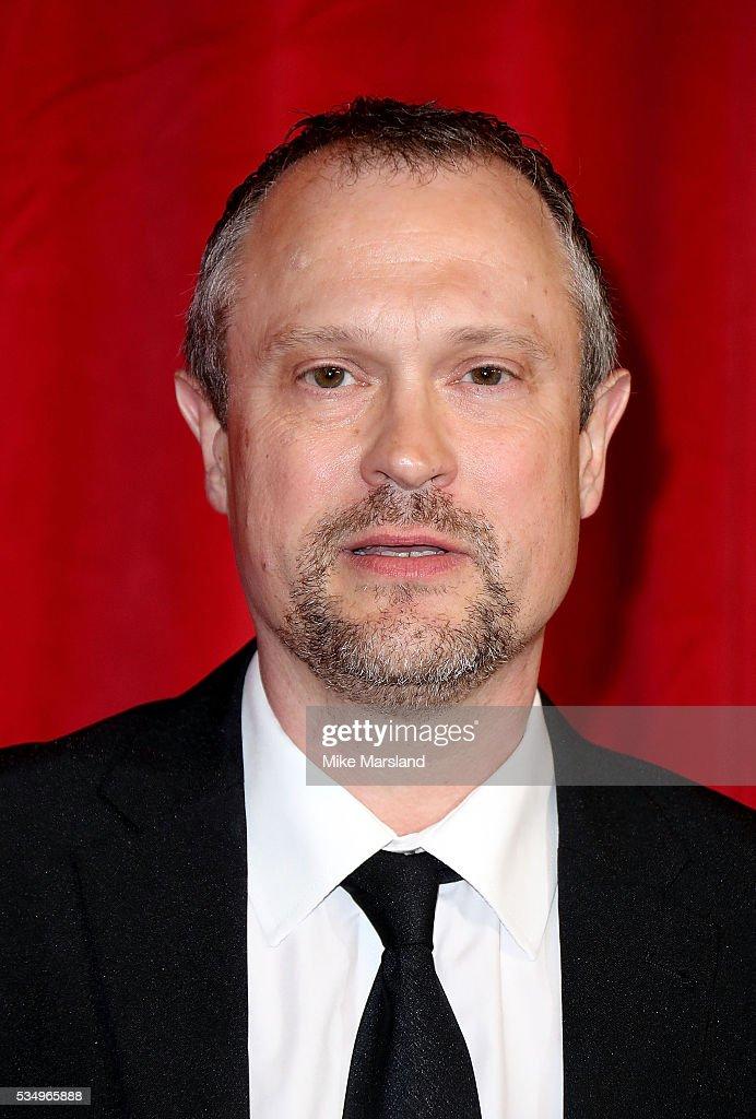 David Perks attends the British Soap Awards 2016 at Hackney Empire on May 28, 2016 in London, England.
