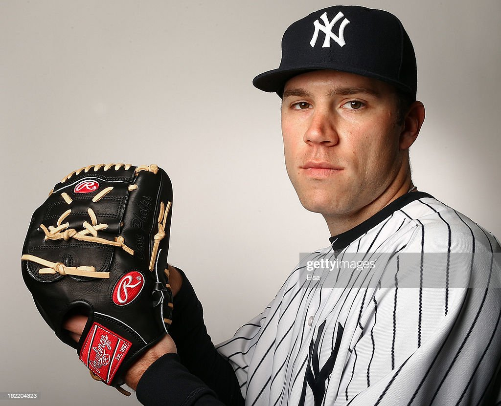 David Phelps #41 of the New York Yankees poses for a portrait on February 20, 2013 at George Steinbrenner Stadium in Tampa, Florida.