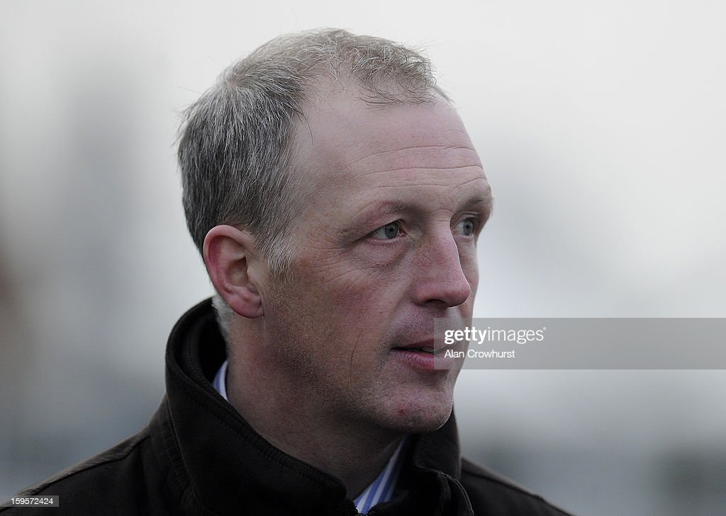 David Pipe poses at Newbury racecourse on January 16, 2013 in Newbury, England.