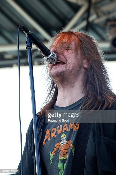 David Pirnir from Soul Asylum performs on the US Cellular Connection Stage at the Henry W Maier Festival Park during the HarleyDavidson 110th...