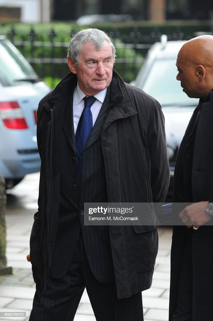 The Funeral Of Former England Football Manager Graham Taylor