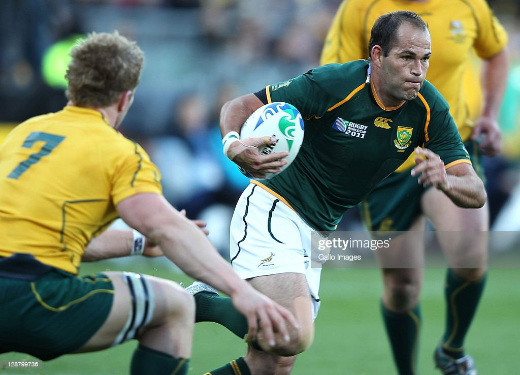 South Africa v Australia - IRB RWC 2011 Quarter Final 3