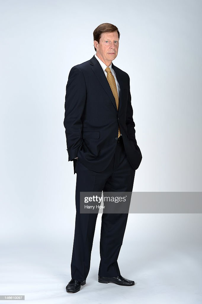 David Poille, General Manager of the Nashville Predators poses for a portrait during the 2012 NHL Awards at the Encore Theater at the Wynn Las Vegas on June 20, 2012 in Las Vegas, Nevada.