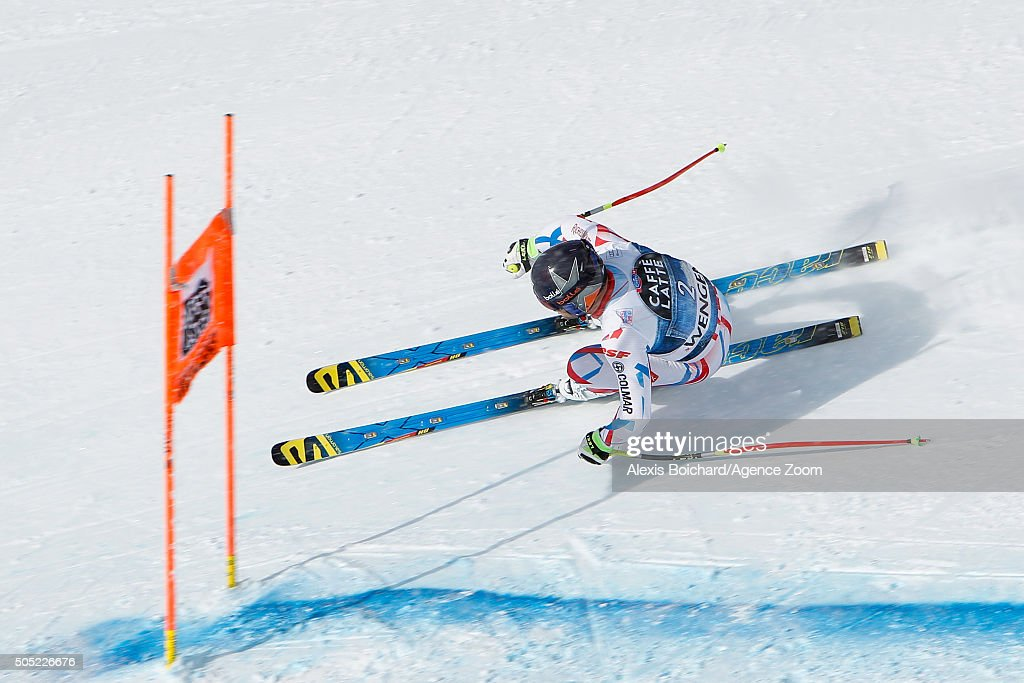 <a gi-track='captionPersonalityLinkClicked' href=/galleries/search?phrase=David+Poisson&family=editorial&specificpeople=2233661 ng-click='$event.stopPropagation()'>David Poisson</a> of France competes during the Audi FIS Alpine Ski World Cup Men's Downhill on January 16, 2016 in Wengen, Switzerland.
