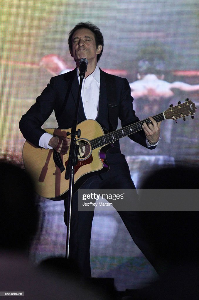 David Pomeranz performs during the 34th birthday of World boxing icon Manny Pacquiao on December 17, 2012 in General Santos, Philippines.