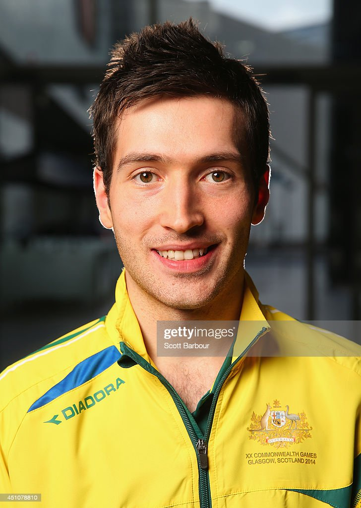 David Powell (table tennis) poses during the unveiling of the Australian Commonwealth Games competition - david-powell-poses-during-the-unveiling-of-the-australian-games-at-picture-id451078810