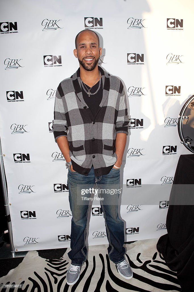 David Price attends the GBK & Cartoon Network's Official Backstage Thank You Lounge at Barker Hangar on February 9, 2013 in Santa Monica, California.