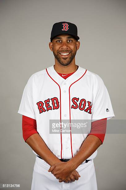 David Price of the Boston Red Sox poses during Photo Day on Sunday February 28 2016 at JetBlue Park in Fort Myers Florida