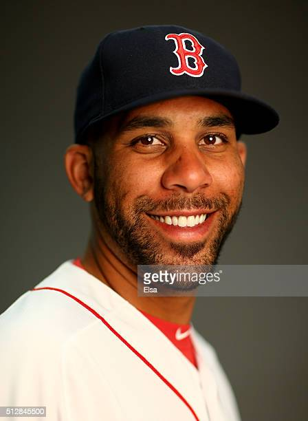 David Price of the Boston Red Sox poses for a portrait on February 28 2016 at JetBlue Park in Fort Myers Florida