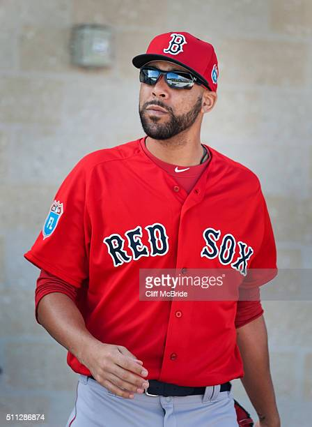 David Price of the Boston Red Sox runs during a spring training workout at Fenway South on February 19 2016 in Ft Myers Florida
