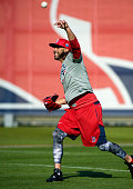 David Price of the Boston Red Sox warms up during a Spring Training workout on February 17 2016 at Fenway South in Fort Myers Florida