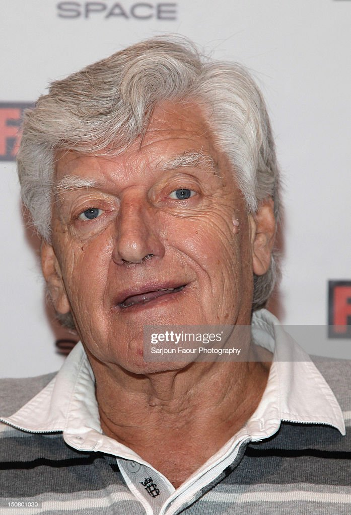 David Prowse attends the 18th Annual Fan Expo Canada at Metro Toronto Convention Centre on August 25, 2012 in Toronto, Canada.