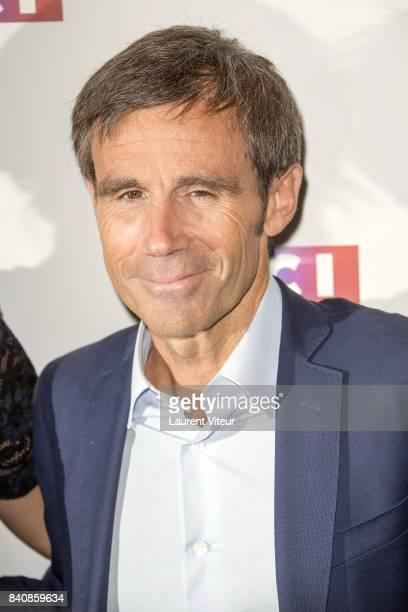 David Pujadas attends LCI Press Conference on August 30 2017 in Paris France