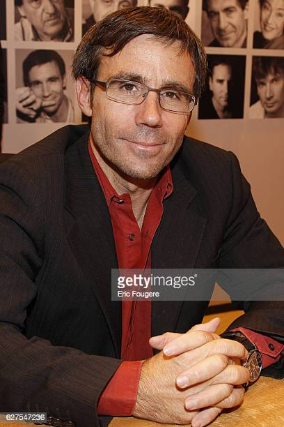 David Pujadas attends the 2009 ' Salon du Livre ' in Paris