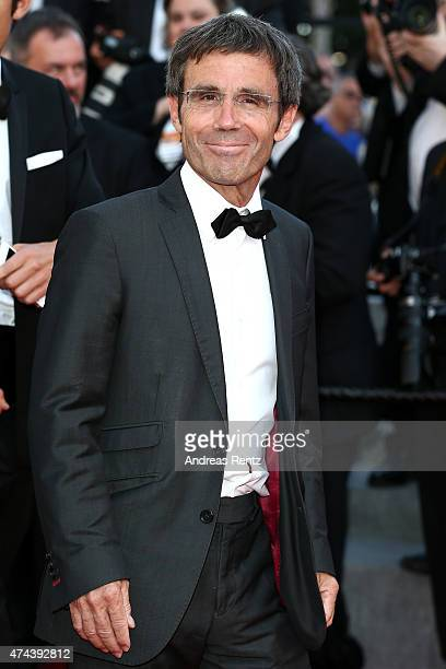 CANNES FRANCE MAY 22 David Pujadas attends the Premiere of 'The Little Prince' during the 68th annual Cannes Film Festival on May 22 2015 in Cannes...