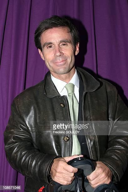 David Pujadas in Paris France on March 31 2005