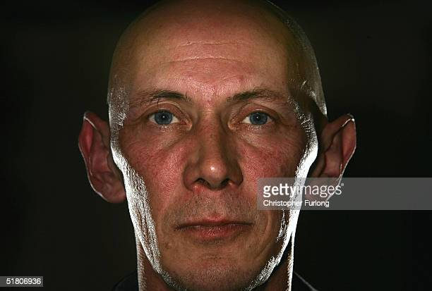 David Pyke who helped launch the Scottish Branch of Fathers 4 Justice is seen November 30 2004 in Stirling Scotland The organisation earlier in the...