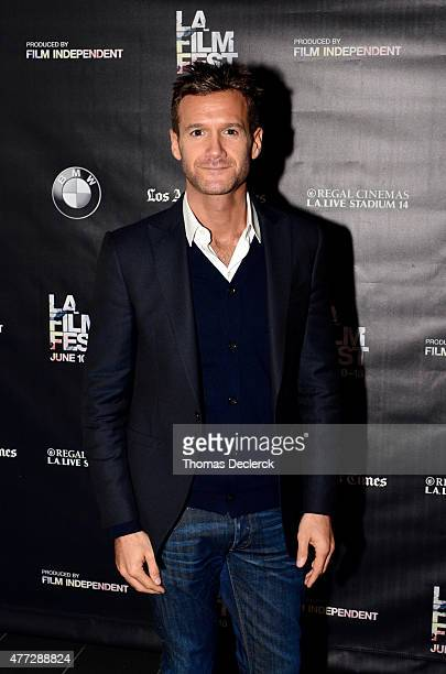 David Raymond of Arise Pictures attends the UN Panel during the 2015 Los Angeles Film Festival at Regal Cinemas LA Live on June 14 2015 in Los...