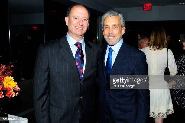David Reitner and Charles S Cohen attend the Decoration and Design Building celebrates the 2017 winners of the DDB's 10th Anniversary of Stars of...