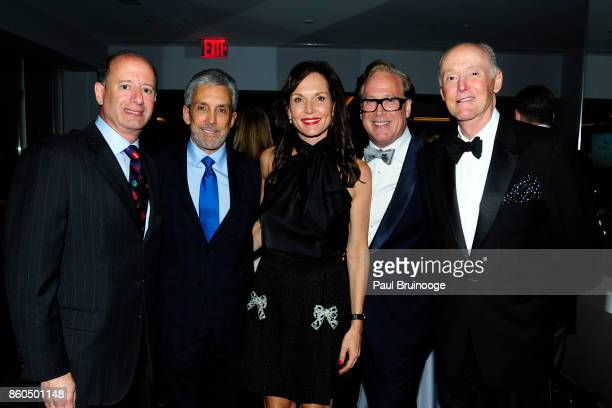 David Reitner Charles S Cohen Clo Cohen Scott Salvatore and Michael Zabriskie attend the Decoration and Design Building celebrates the 2017 winners...