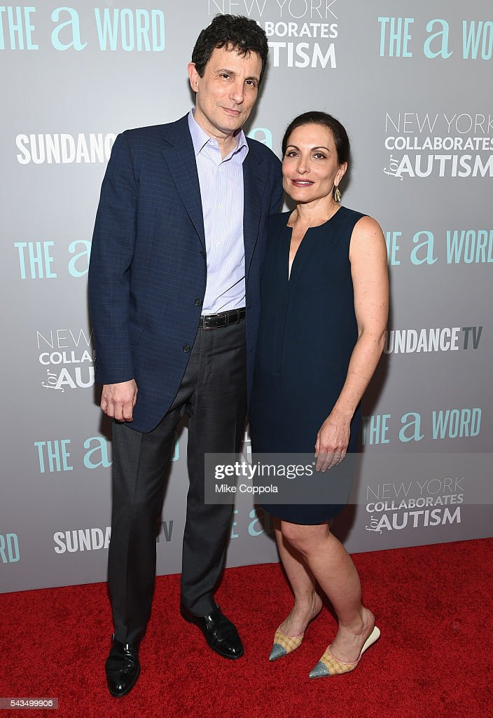 <a gi-track='captionPersonalityLinkClicked' href=/galleries/search?phrase=David+Remnick&family=editorial&specificpeople=235895 ng-click='$event.stopPropagation()'>David Remnick</a> (L) and Esther Fein attend the 'The A Word' New York screening at Museum Of Arts And Design on June 28, 2016 in New York City.