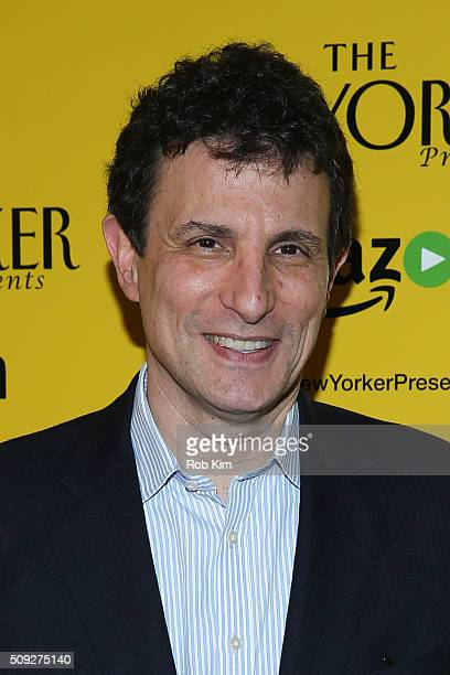 David Remnick attends Amazon's 'The New Yorker Presents' Special Screening at Crosby Street Hotel on February 9 2016 in New York City