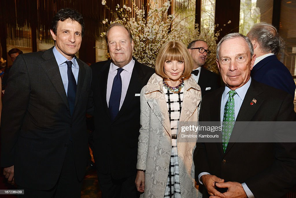 <a gi-track='captionPersonalityLinkClicked' href=/galleries/search?phrase=David+Remnick&family=editorial&specificpeople=235895 ng-click='$event.stopPropagation()'>David Remnick</a>, Chuck Townsend, <a gi-track='captionPersonalityLinkClicked' href=/galleries/search?phrase=Anna+Wintour&family=editorial&specificpeople=202210 ng-click='$event.stopPropagation()'>Anna Wintour</a> and <a gi-track='captionPersonalityLinkClicked' href=/galleries/search?phrase=Michael+Bloomberg&family=editorial&specificpeople=171685 ng-click='$event.stopPropagation()'>Michael Bloomberg</a> attend the Conde Nast Celebrates Editorial Excellence: Toast To Editors, Writers And Contributors on April 22, 2013 in New York City.