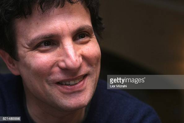 David Remnick editor of The New Yorker smiles during an interview on February 06 2006 in Jerusalem Israel