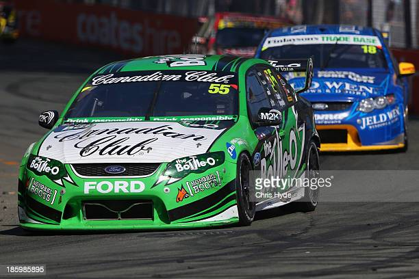 David Reynolds drives the The BottleO FPR Ford during race 31 for the Gold Coast 600 which is round 12 of the V8 Supercars Championship Series at the...