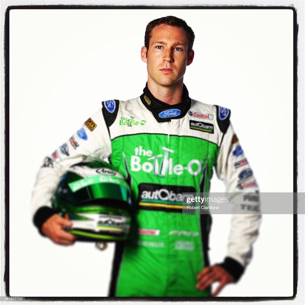 David Reynolds of the Bottle-O Racing Team during a V8 Supercars driver portrait session at Eastern Creek on February 15, 2013 in Sydney, Australia.