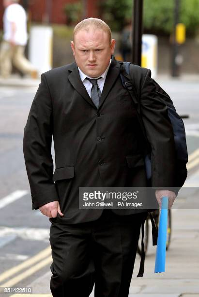 David Ribchester 31 John F Kennedy estate Washington Tyne and Wear arrives at the Old Bailey in the City of London to be sentenced today after he was...