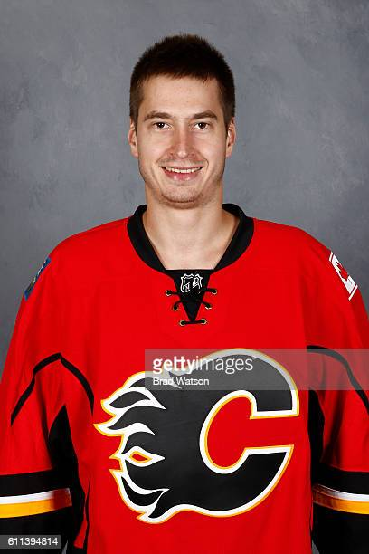 David Rittich of the Calgary Flames poses for his official headshot for the 20162017 season on September 22 2016 at the WinSport Winter Sport...