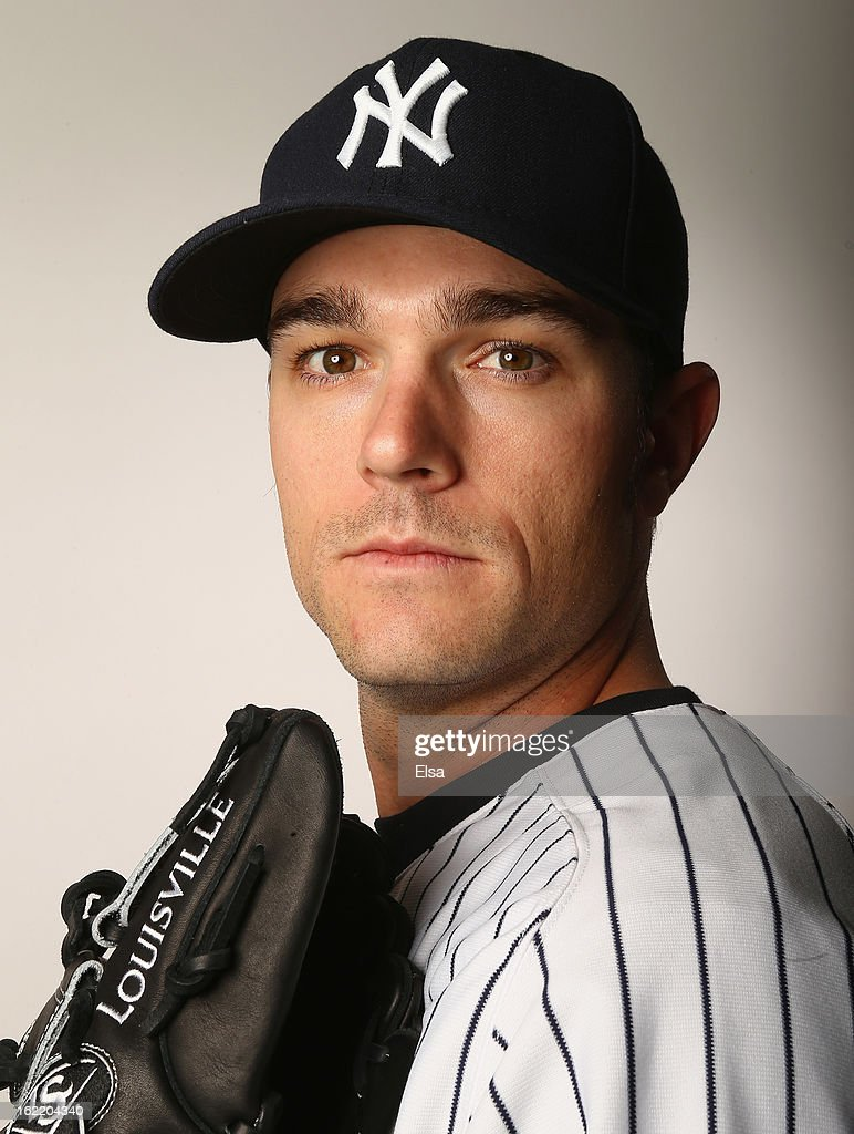 David Robertson #30 of the New York Yankees poses for a portrait on February 20, 2013 at George Steinbrenner Stadium in Tampa, Florida.