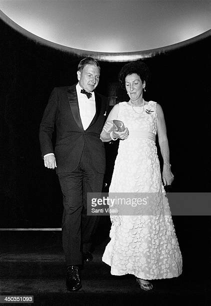 David Rockefeller and wife on May 23 1969 in New York New York