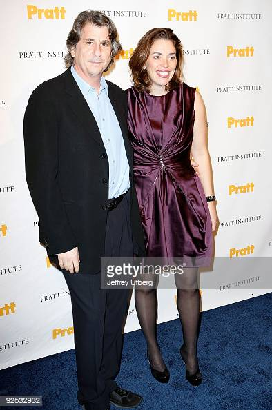 David Rockwell and Amy Cappellazzo attend the 2009 Pratt Institute Legends Scholarship Benefit at 7 World Trade Center on October 29 2009 in New York...