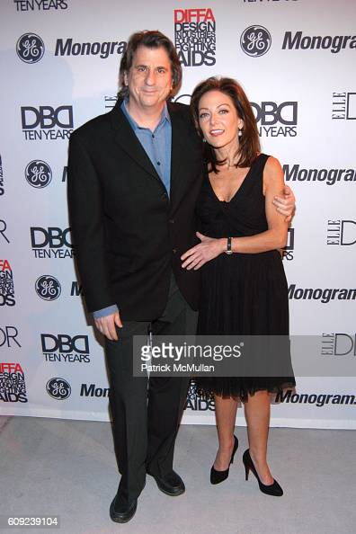 David Rockwell and Margaret Russell attend Design Industries Foundation Fighting Aids Celebrates the 10th Anniversary of Dining By Design at The...