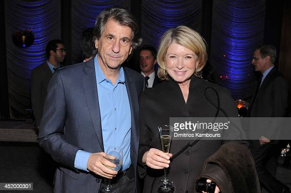 David Rockwell and Martha Stewart attends The AD100 Gala Hosted By Architectural Digest Editor In Chief Margaret Russell at The Four Seasons...