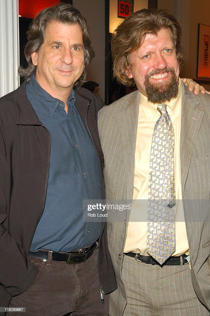 David Rockwell and Oskar Eustis during 'Stuff Happens' New York City Opening Night and After Party April 13 2006 at The Public Theatre and Union...