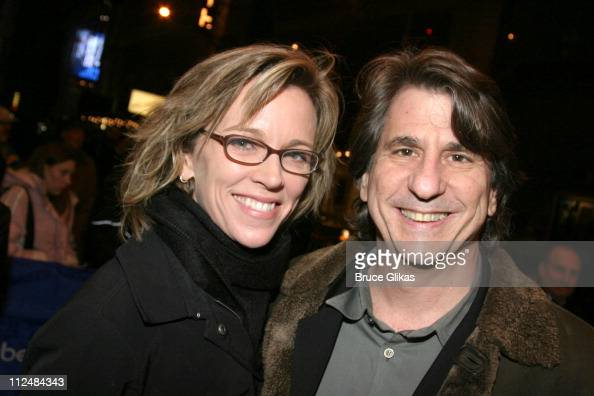 David Rockwell and wife during 'Dirty Rotten Scoundrels' Broadway Opening Night at The Imperial Theater in New York City New York United States