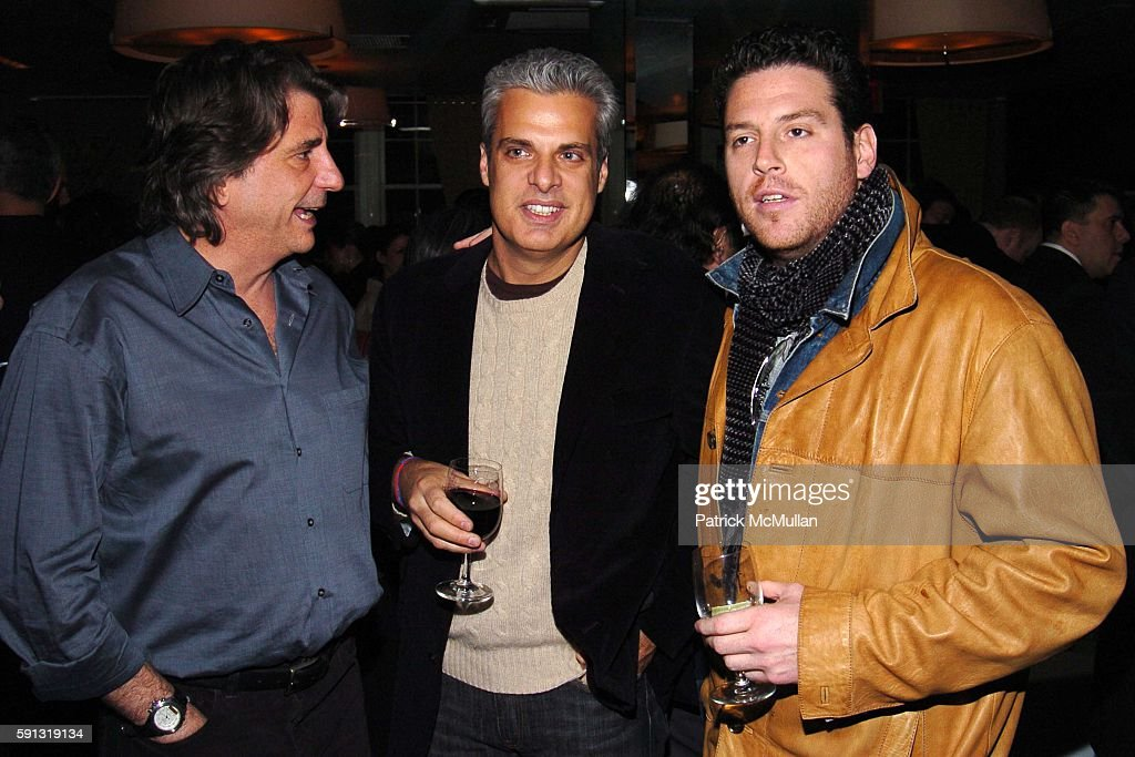 David Rockwell Eric Ripert and Scott Conant attend Book Release Celebration for Ruth Reichl the EditorinChief of Gourmet Magazine's new book 'Garlic...